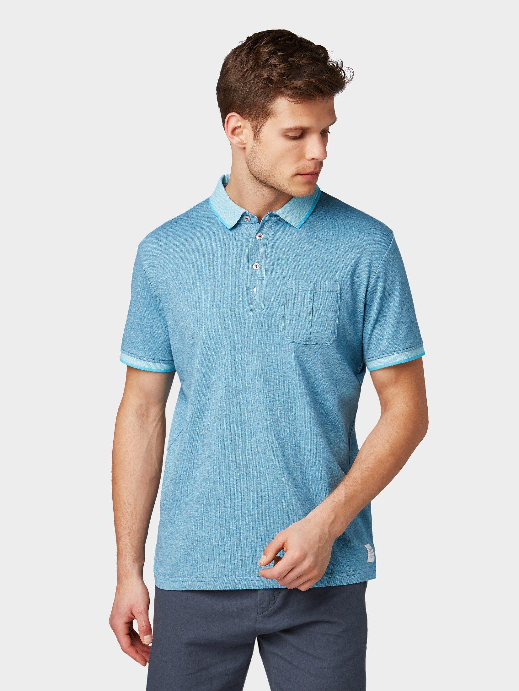 TOM TAILOR T Shirt »Mehrfarbiges Poloshirt« kaufen | OTTO