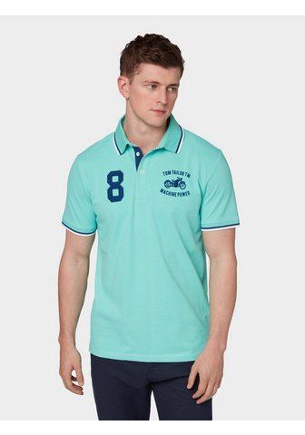 TOM TAILOR Футболка »Poloshirt с Logo-Stick...