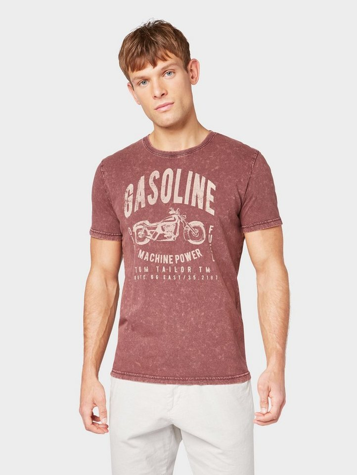TOM TAILOR T-Shirt »T-Shirt im Washed Out Look«
