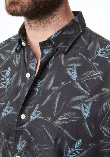 Fit Mit Cardin Print Tropical Modern Hemd Pierre YgqwEZZ
