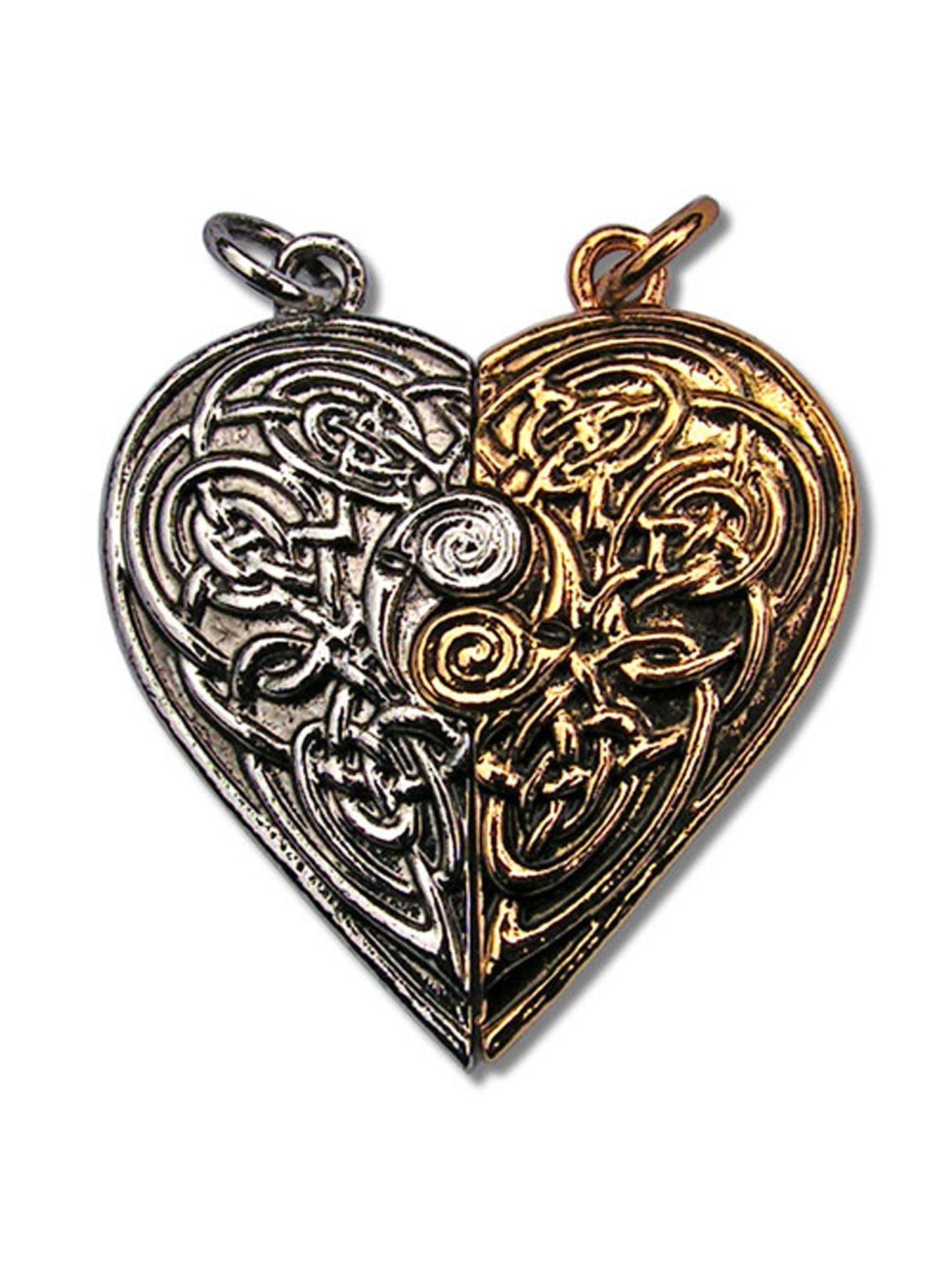 Adelia´s Amulett »Die verlorenen Schätze von Albion Amulett« Tristan und Isolde Liebesamulet