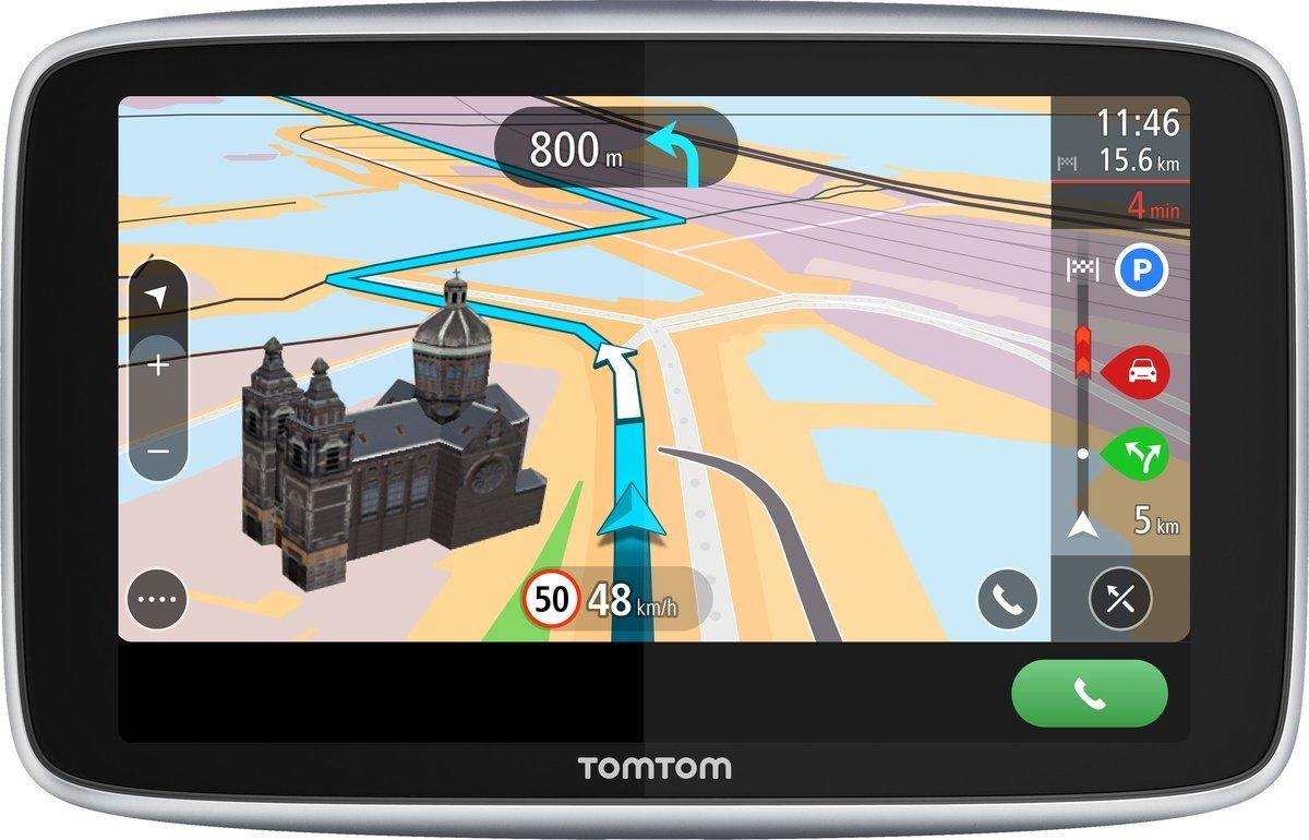 TomTom Navigationsgerät »GO PREMIUM 6 World«