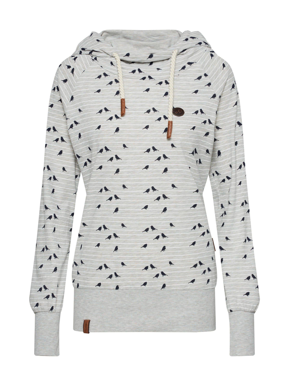 naketano Kapuzensweatshirt »Mandy Spatzl«, Hoody mit Teilungsnähten und Allover Druck online kaufen | OTTO