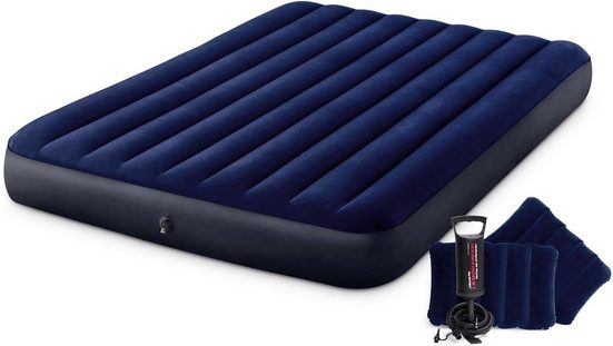 Intex Luftbett »DURA-BEAM® Classic Downy Airbed-Set«, (Set)