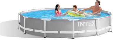 Intex Pool »Prism Frame™ Pool Komplett-Set, Intex« (Set, 5-tlg)