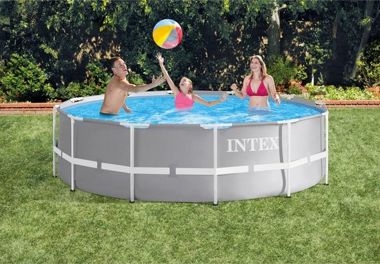 Intex Pool »Prism Frame™ Pool-Set, Intex« (Set, 3-tlg)