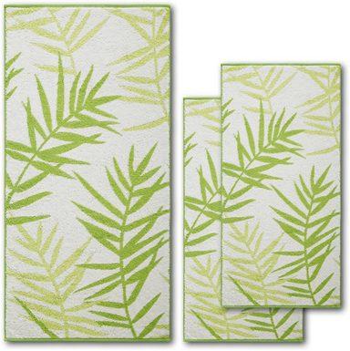 Dyckhoff Handtuch Set »Green Paradise Leaf«, mit Schilfzweigen