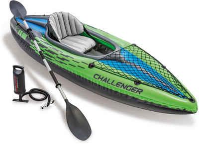 Intex Einerkajak »Challenger K1 Kayak Set«, (Set, 3)