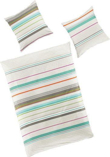 Bettwäsche »Easy Stripes«, BIERBAUM, mit Streifen