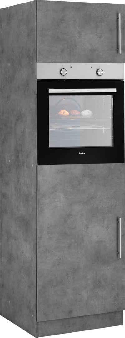 wiho Küchen Backofen/Kühlumbauschrank »Cali« 60 cm breit