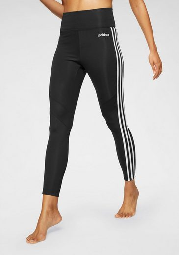 adidas Funktionstights »DESIGN 2 MOVE 3 STRIPES 7/8 TIGHTS«