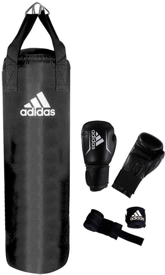 adidas performance boxsack performance boxing set set. Black Bedroom Furniture Sets. Home Design Ideas