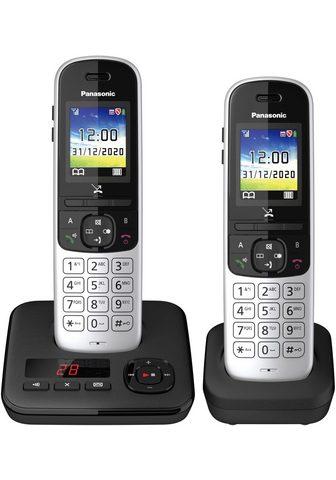 PANASONIC »KX-TGH722 Duo« Bevielis DECT-Telefon ...