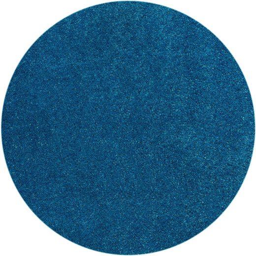 Teppich »Miami Style«, Barbara Becker, rund, Höhe 23 mm, Rasenteppich, In- und Outdoor geeignet