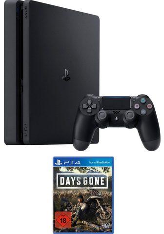 PLAYSTATION 4 Siauras 500 GB (Bundle ir Days Gone)