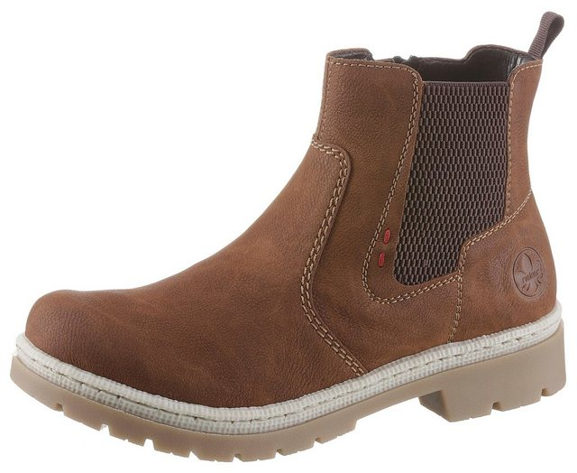 Rieker Chelseaboots in markanter Optik | Schuhe > Boots > Chelsea-Boots | Rieker