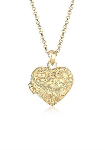ELLI Grandinėlė-kolje »Herz Ornament Amulet...