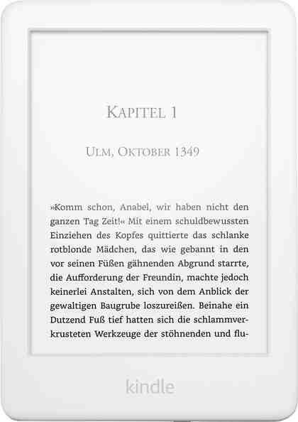 Kindle E-Reader 2019 4GB E-Book (6