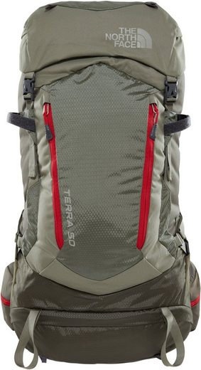 Wanderrucksack North »terra Backpack« The Face 50 UEzf7