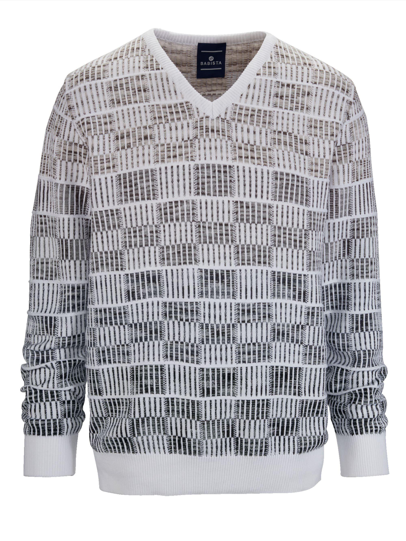 Babista Pullover mit hochwertigem Jacquard-Muster