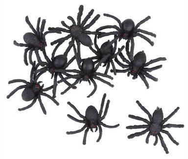 """Halloween Dekoration """"Spinnen"""" 10 Stück"""