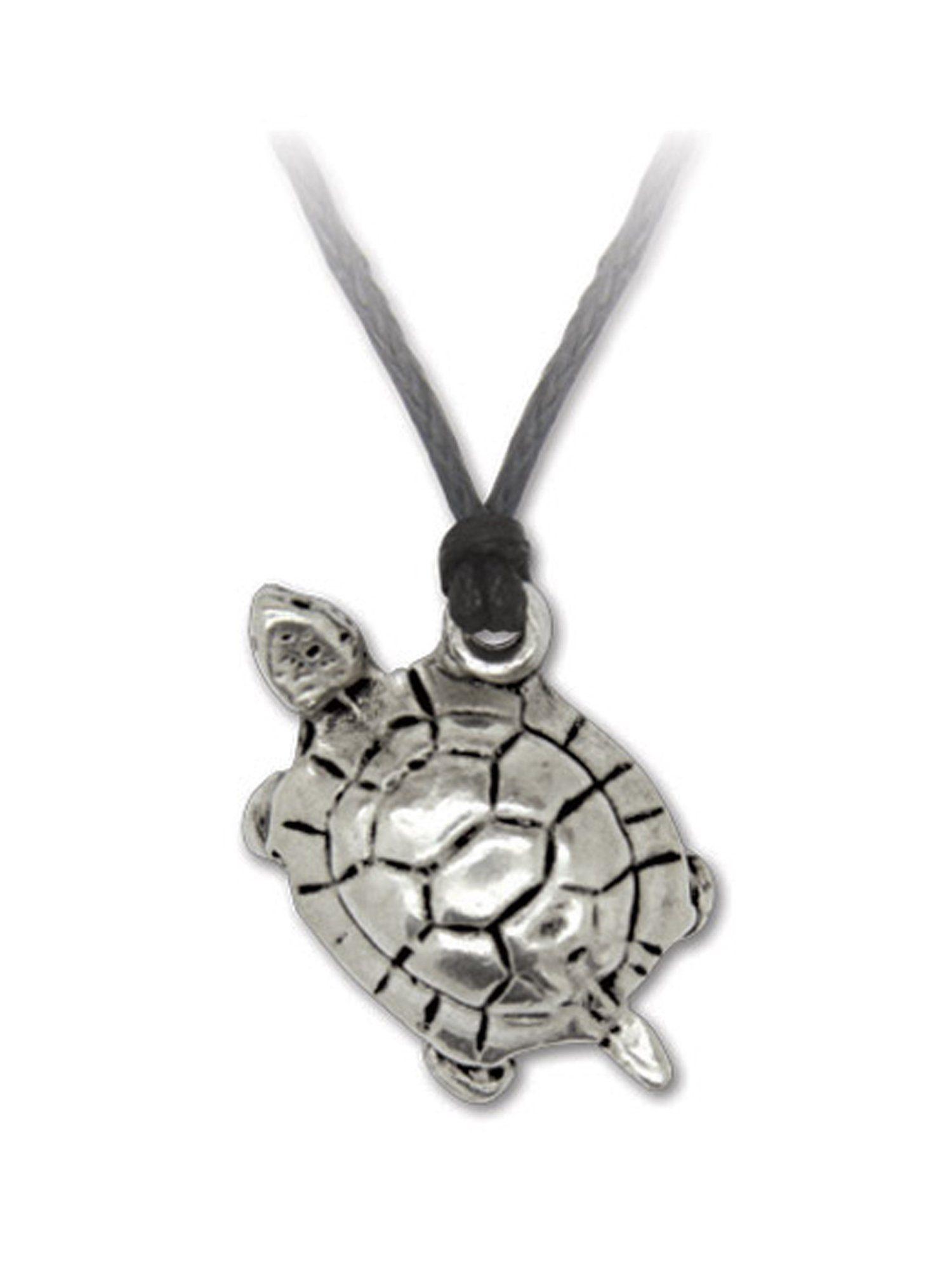 Adelia´s Amulett »Glückstiere Talisman« Die Schildkröte - Langlebigkeit, Stabilität und Schutz