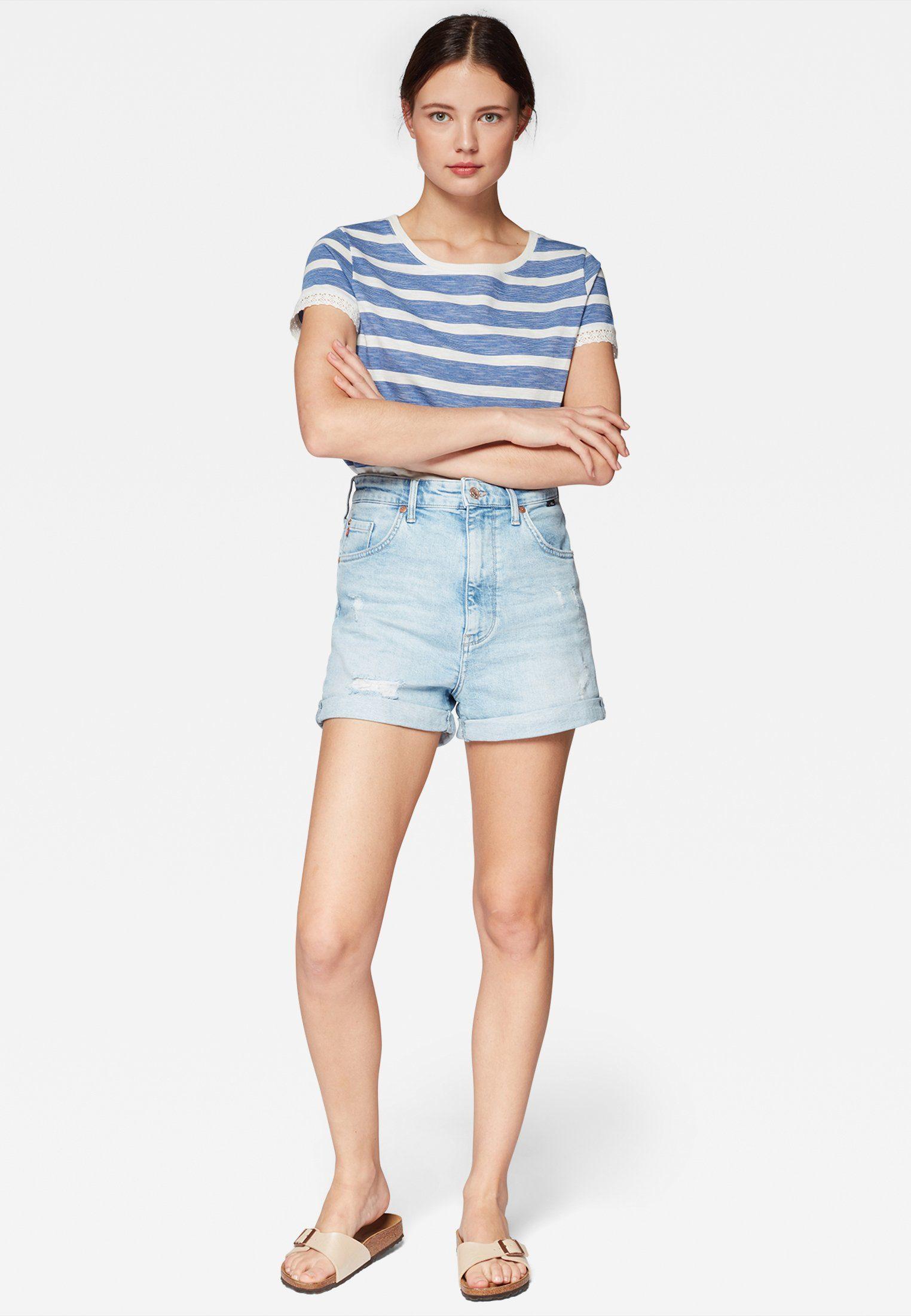 Mavi High-waist-Jeans »ELLA« Jeansshorts