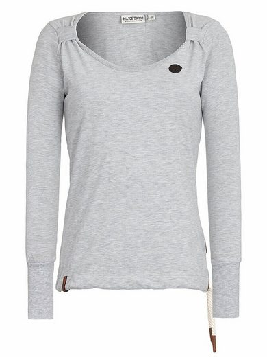 naketano Sweatshirt »Big Dudelsack Flavour«