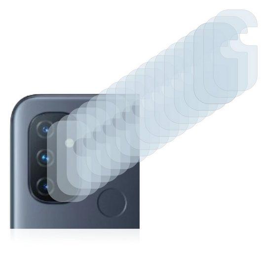 Savvies Schutzfolie »für OnePlus Nord N100 (nur Kamera)«, (18 Stück), Folie Schutzfolie klar