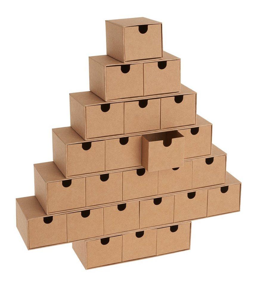 Weihnachtskalender Tannenbaum.Adventskalender Tannenbaum 32 5 Cm X 30 5 Cm Otto