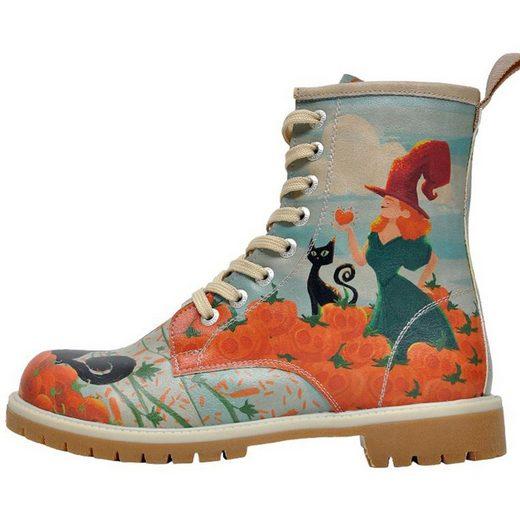 DOGO »Pumpkin Witch 42« Stiefel Vegan