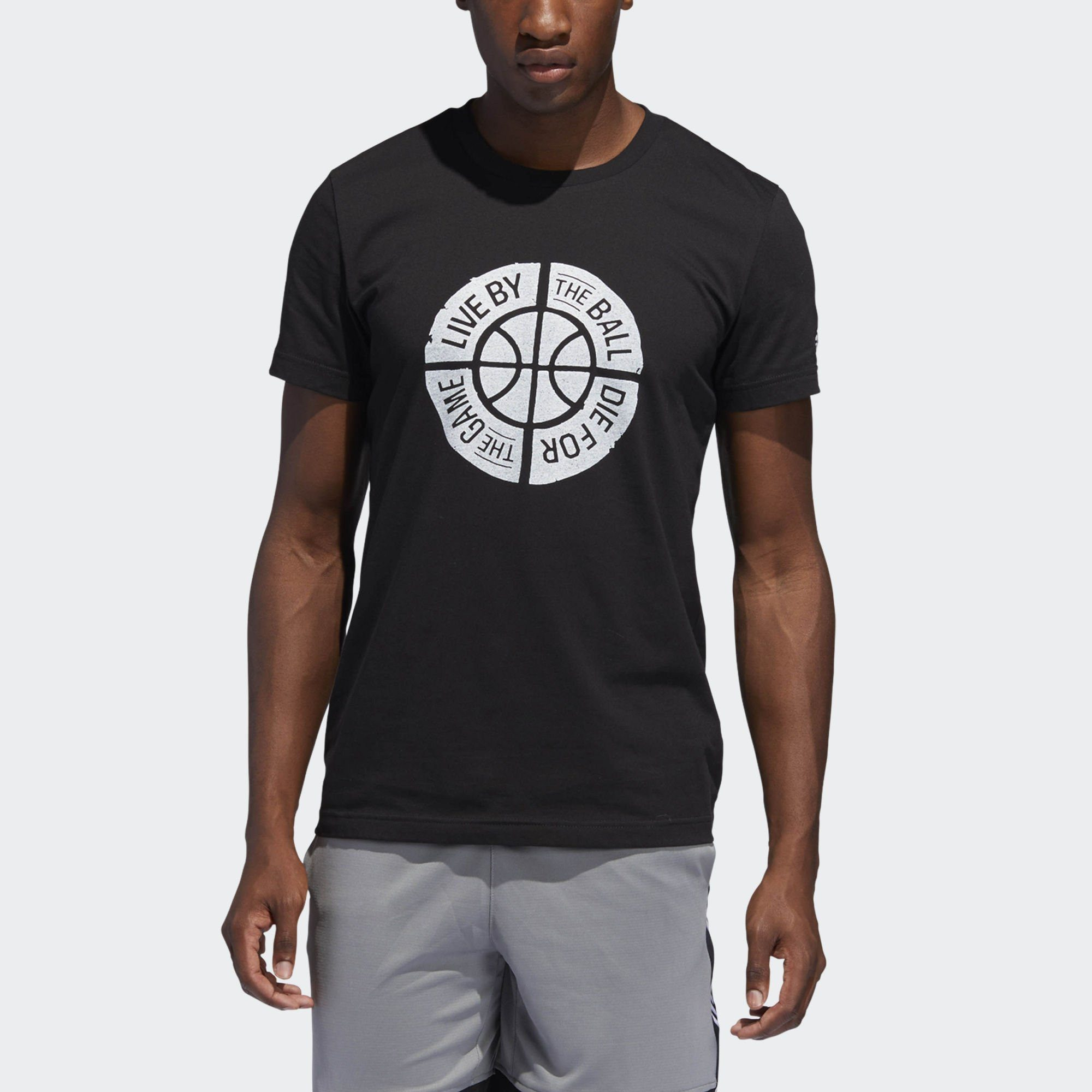 adidas Performance T-Shirt »Live by Ball Graphic T-Shirt«