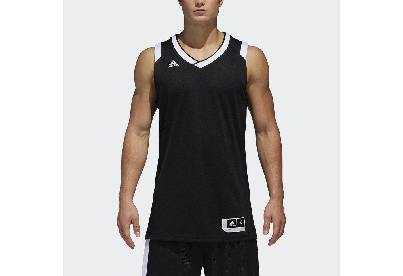 adidas Performance Basketballtrikot »Crazy Explosive Trikot« | Sportbekleidung > Trikots > Basketballtrikots | Schwarz | adidas Performance