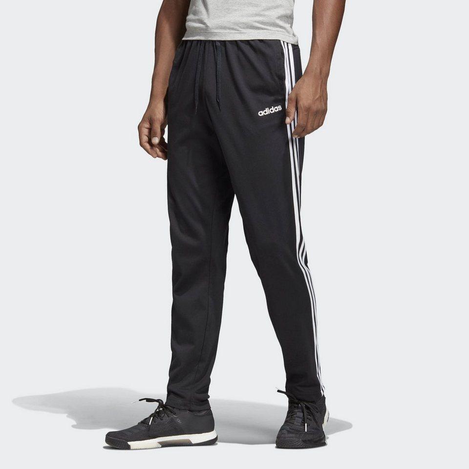 b7e0e2b80d691e adidas Performance Trainingshose »Essentials 3-Streifen Tapered Hose ...