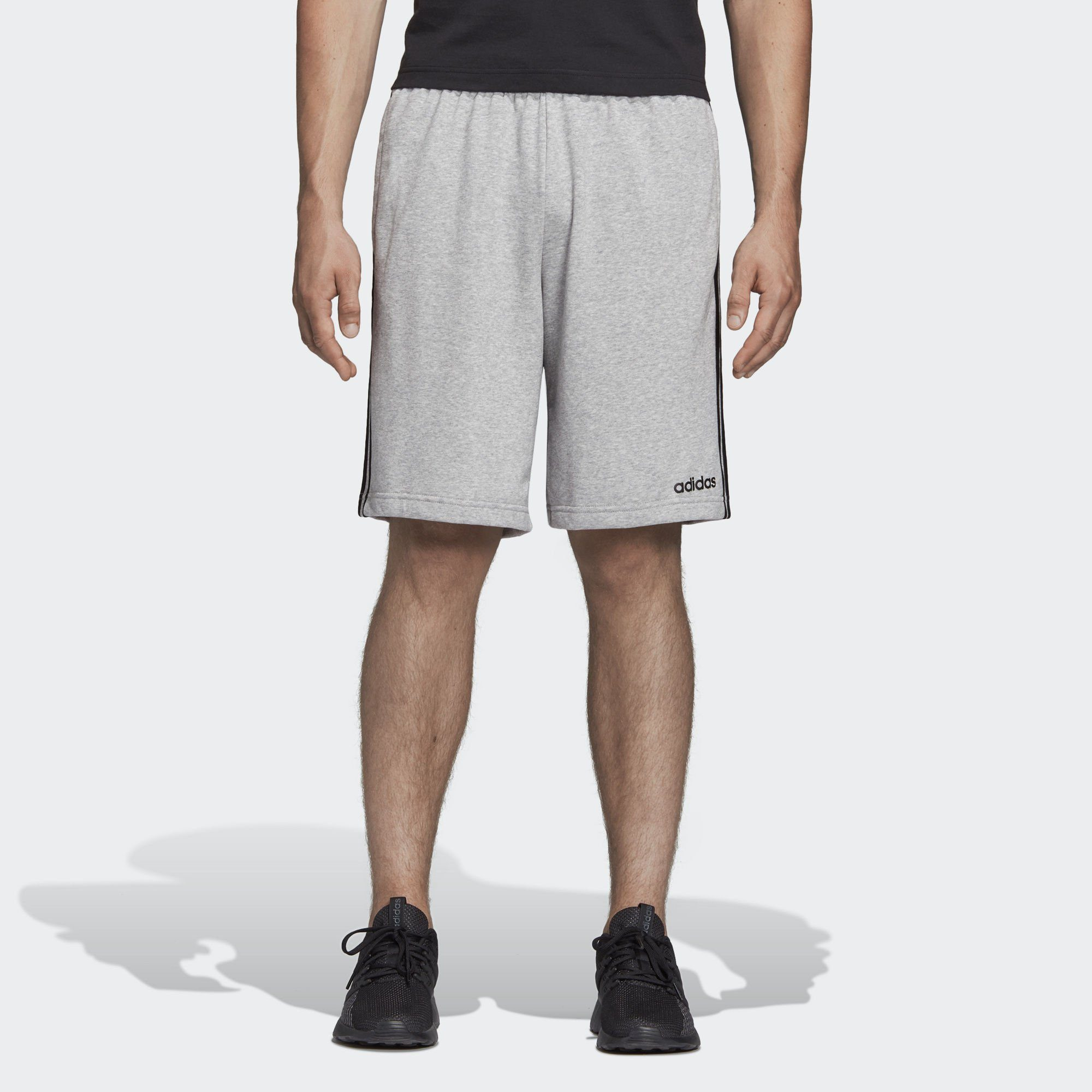 adidas Performance Shorts »Essentials 3-Streifen French Terry Shorts«