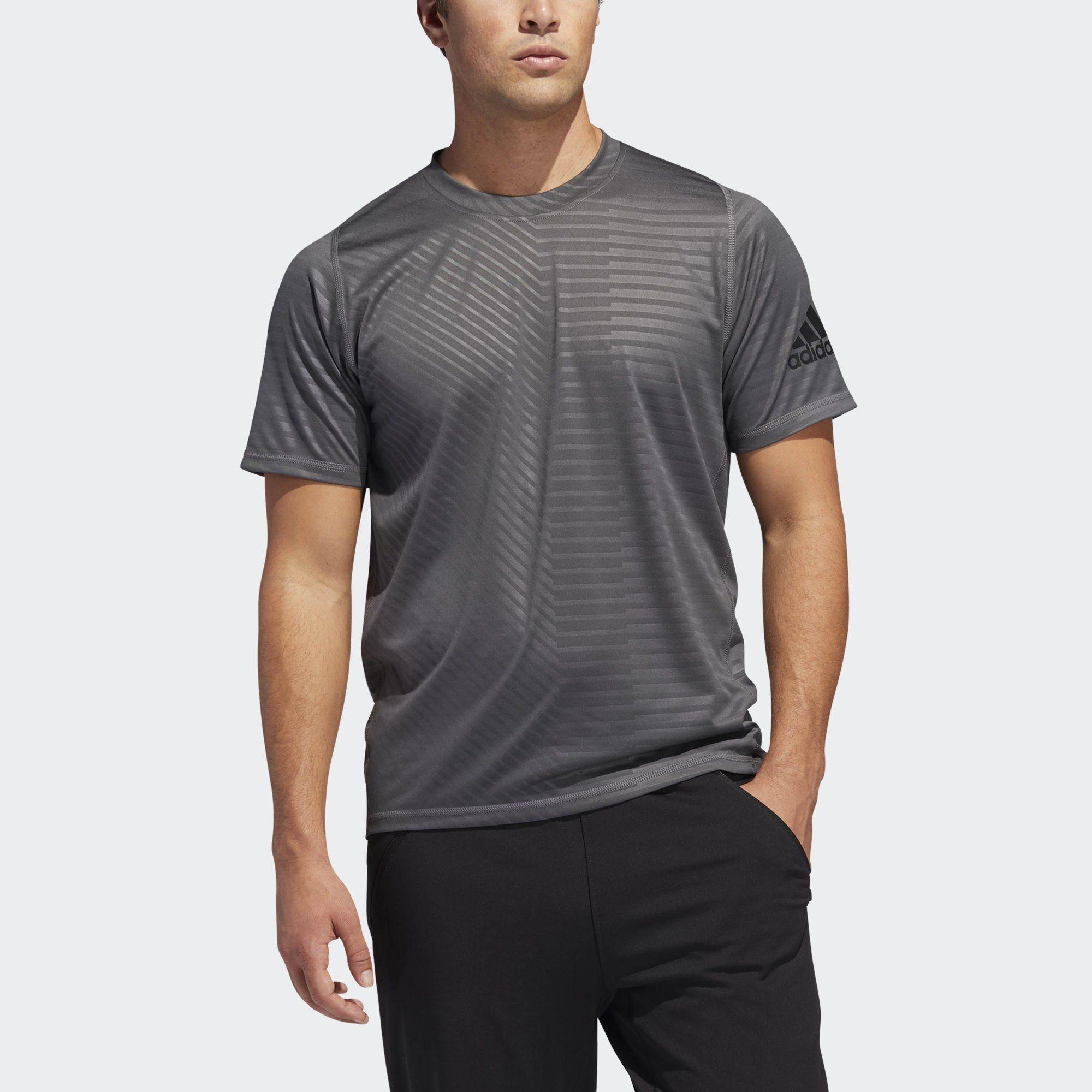 adidas Performance T-Shirt »FreeLift Sport Ultimate Embossed T-Shirt« Clima