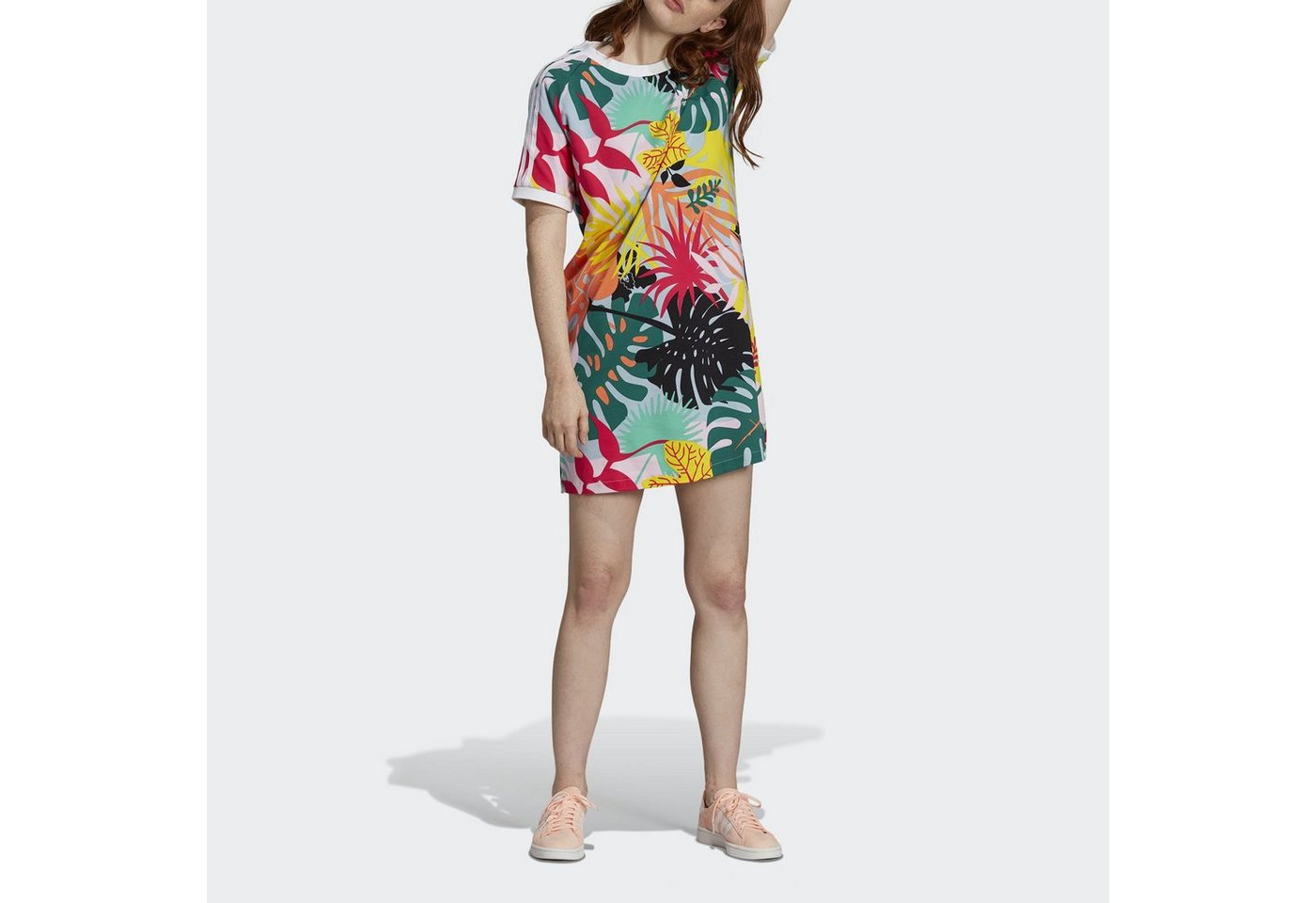 adidas Originals Shirtkleid »Tropicalage T-Shirt-Kleid«