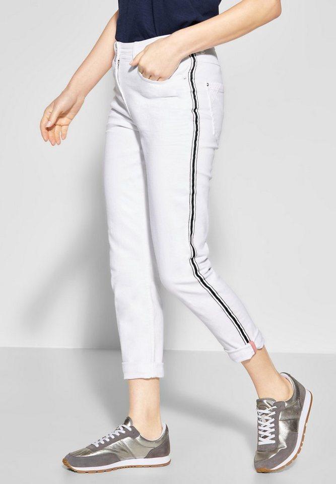 48eec96fff274 Cecil Slim-fit-Jeans mit Galon Streifen kaufen | OTTO