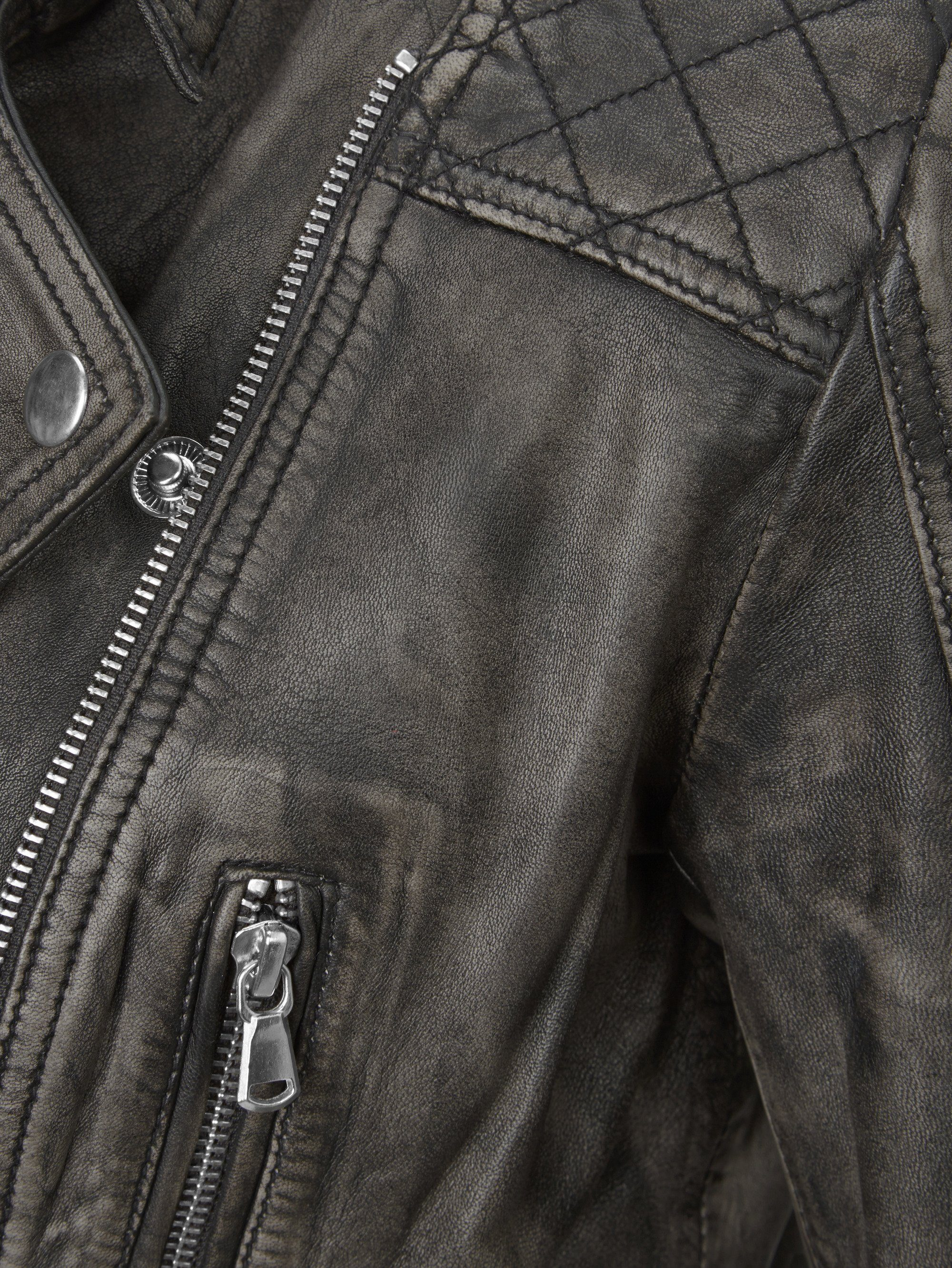 Rockgewitter Lederjacke im Biker Style für Damen | Jacken
