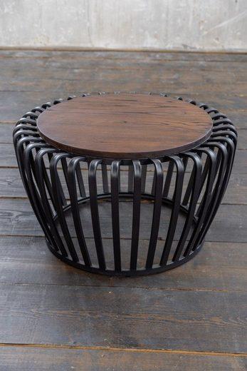 KAWOLA Couchtisch Metall schwarz »BIRA«