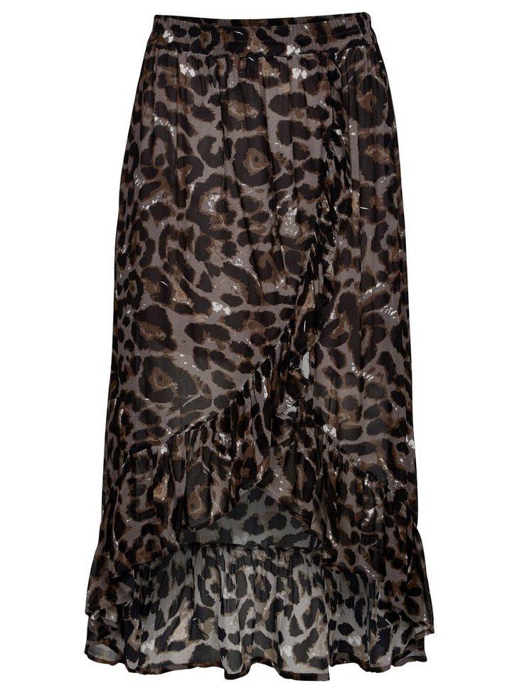 NÜ Wickelrock »Leopardenrock«