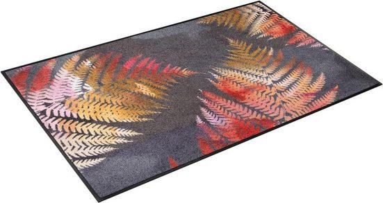 Teppich »Erbario«, wash+dry by Kleen-Tex, rechteckig, Höhe 7 mm, In- und Outdoor geeignet, waschbar