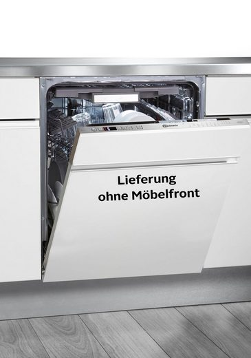 BAUKNECHT vollintegrierbarer Geschirrspüler, BIO 3T333 DELM, 9,5 l, 14 Maßgedecke