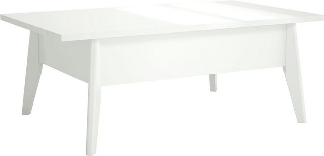 Wohnzimmertische - INOSIGN Couchtisch »Orlando« im weißem hochglanz, mit beeindruckender Auszugsfunktion, Breite 110 cm  - Onlineshop OTTO