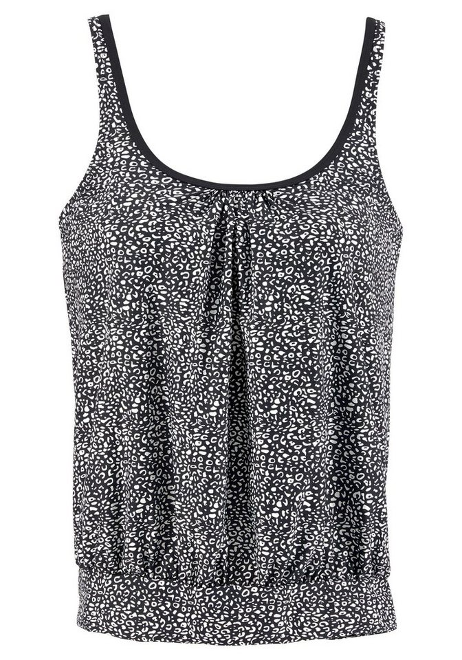 Bademode - LASCANA Tankini Top »Leo«, in Oversize Form ›  - Onlineshop OTTO
