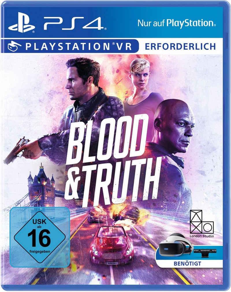 Blood & Truth VR PlayStation 4