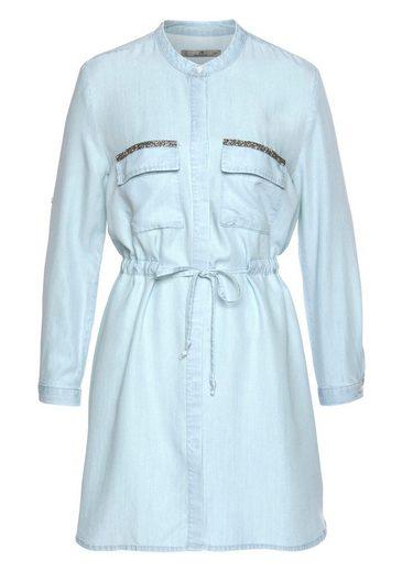 LTB Hemdblusenkleid »ELYA« in Jeans-Optik