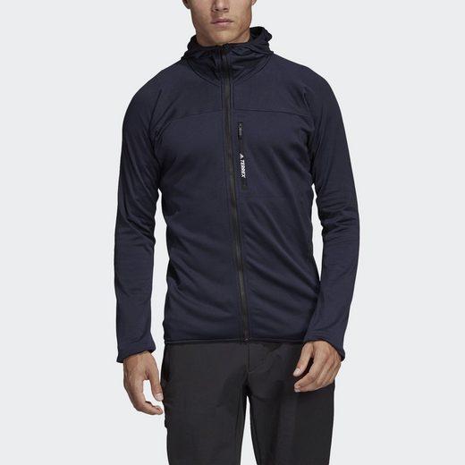 adidas Performance Funktions-Kapuzensweatjacke »TERREX TraceRocker Hooded Fleece«
