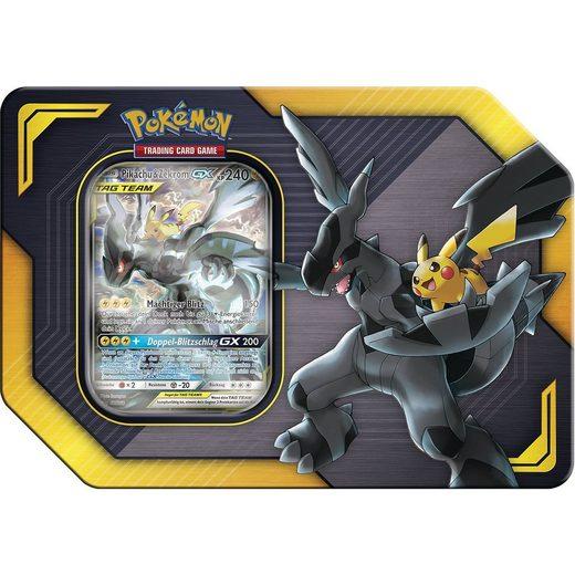 AMIGO Pokemon Pikachu & Zekrom TAG TEAM Tin