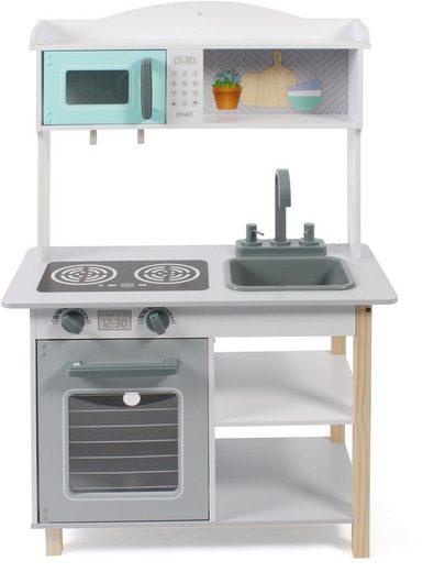 CHIC2000 Spielküche »weiß-grau« MDF, Kunststoff